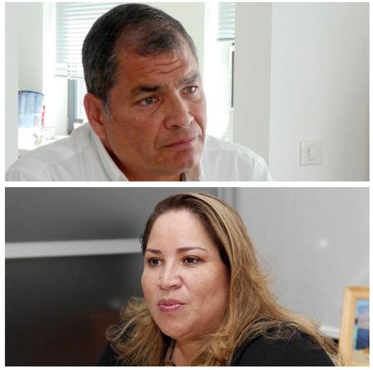 asesora de Rafael Correa fue detenida