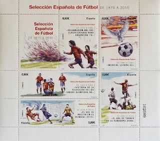 SELECCIÓN ESPAÑOLA DE FÚTBOL DE 1900 A 1970