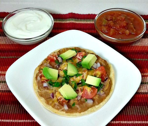 Mexican-Style Corn Tortilla Pizzas