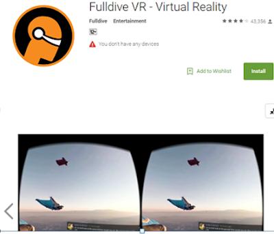 Fulldive Virtual Reality App