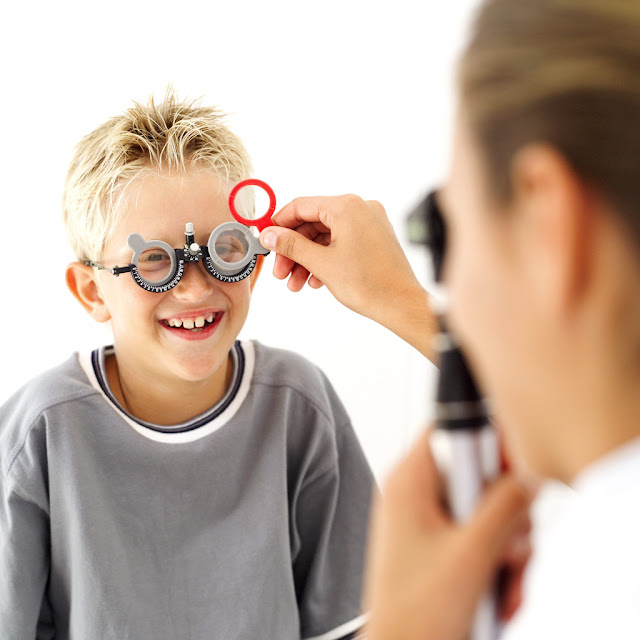Routine for Eye exam of your children