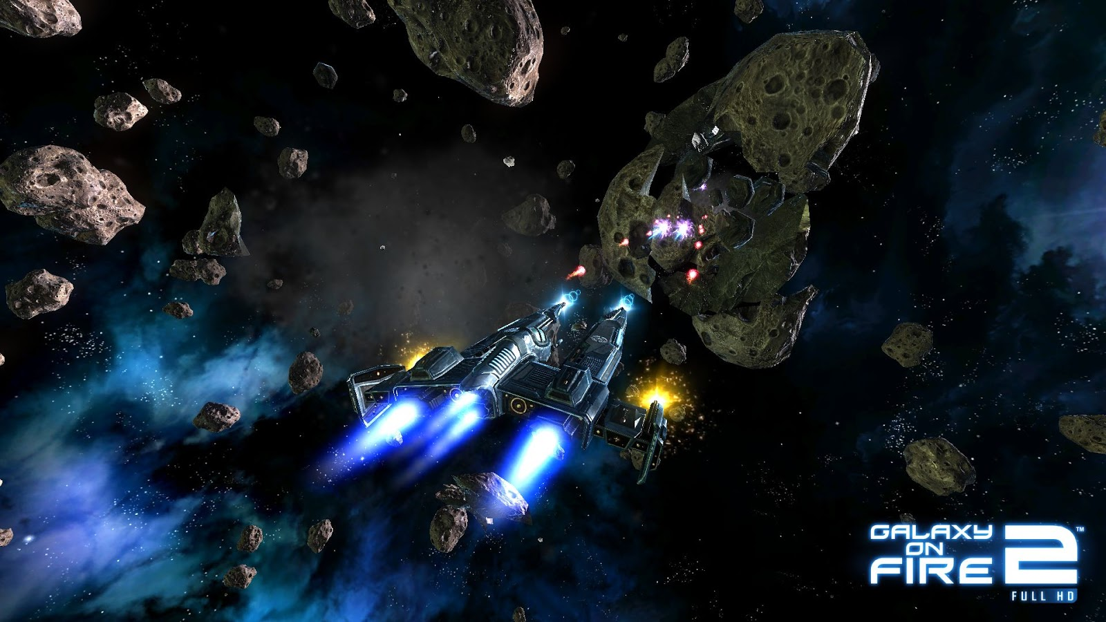 Galaxy on Fire 2 Can Be Downloaded from the AppStore