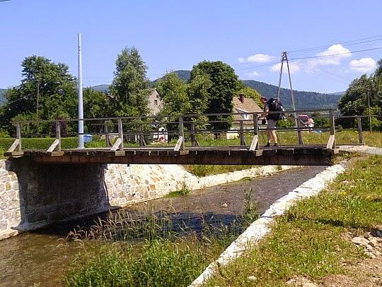 Rzeka Wilczka w Wilkanowie.