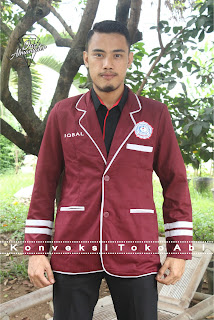 desain jas almamater ketua osis Jakarta