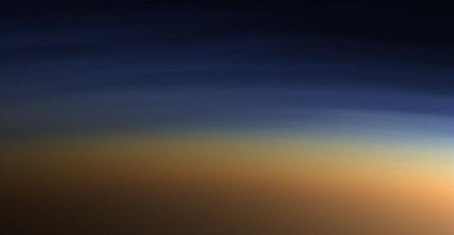 Titan's complex atmosphere. Credit: NASA/JPL/Space Science Institute