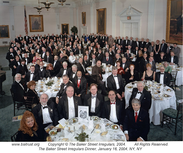 The 2004 BSI Dinner group photo