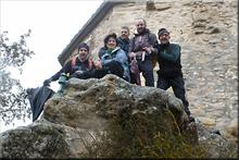 San Formerio mendiaren gailurra 752 m. --  2017ko urtarrilaren 15ean