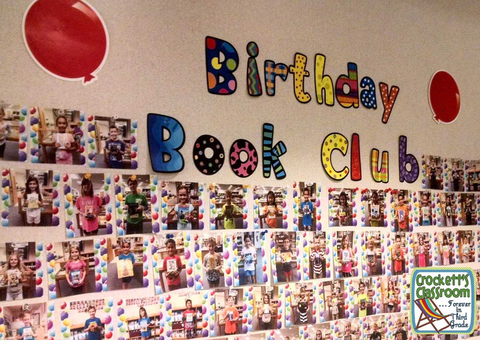 Why not celebrate reading and books at the same time? The Birthday Celebration Book Club is the perfect blending of birthdays and books.