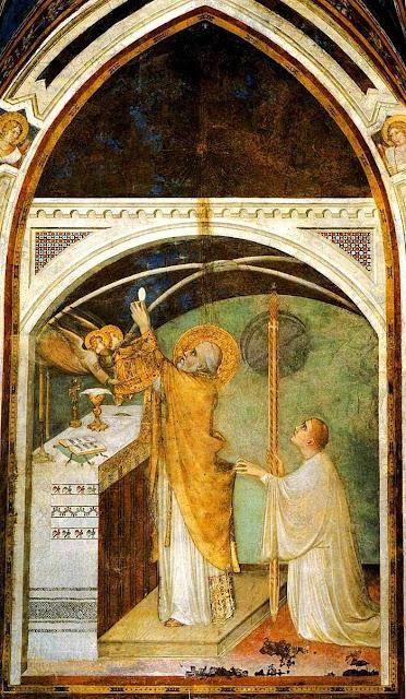 O milagre de Bolsena, Simone Martini.