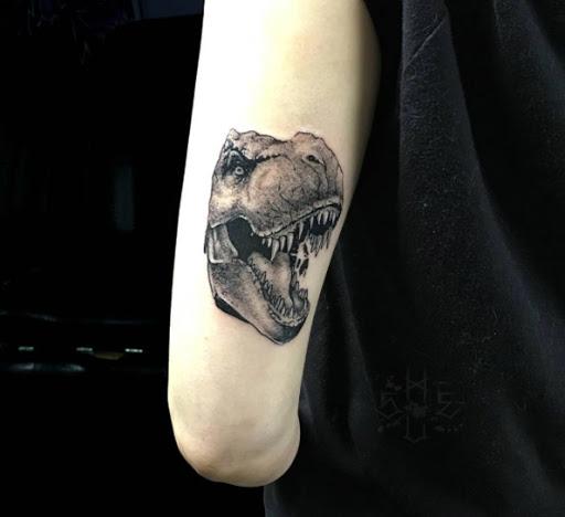 Esta de volta o braço tat