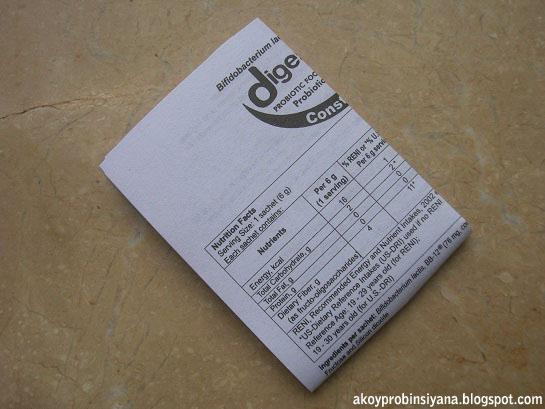 Manual Instruction   Leaflet of Digestics