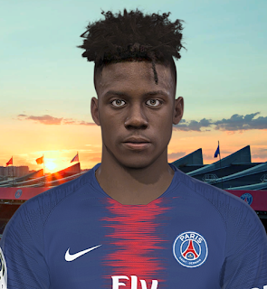 PES 2018 Faces Timothy Weah by Prince Hamiz