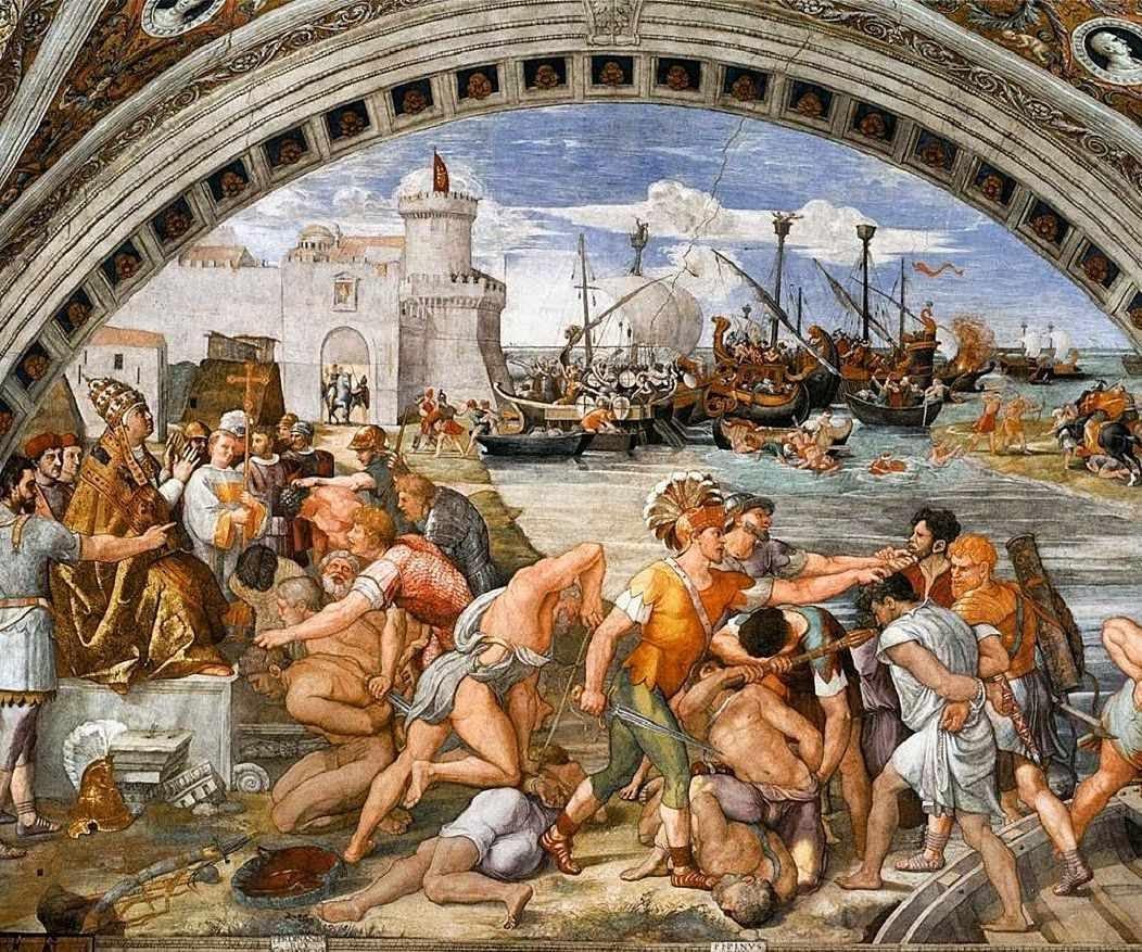 Batalha de Óstia, Roma - Palazzi Vaticani
