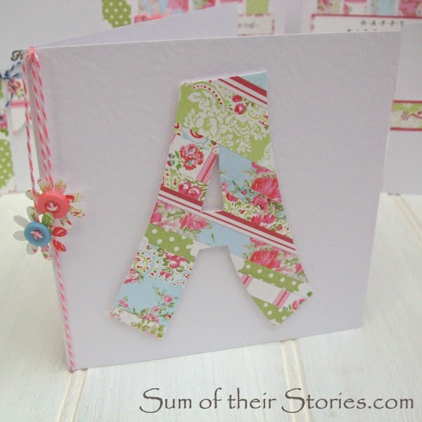 Flowery Letter card