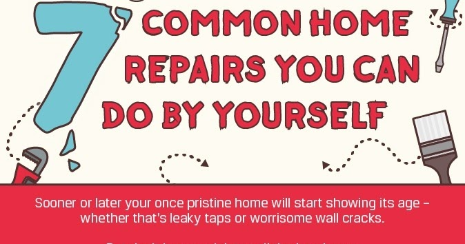7 Common Home Repairs You Can Easily Do By Yourself Dafcuk