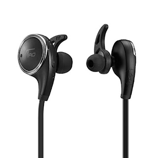 Bluetooth Headphones TaoTronics Wireless Earbuds Sport Earphones Headsets, LOW £12.74