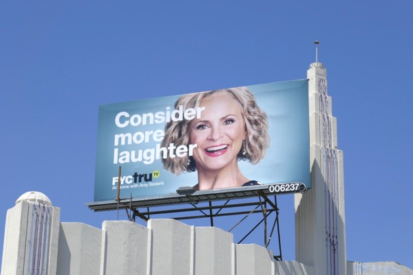 Consider more laughter Amy Sedaris Emmy FYC billboard