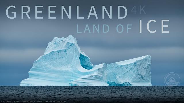 Εκπληκτικό: Απίστευτες εικόνες από την παγωμένη Γροιλανδία (βίντεο drone)