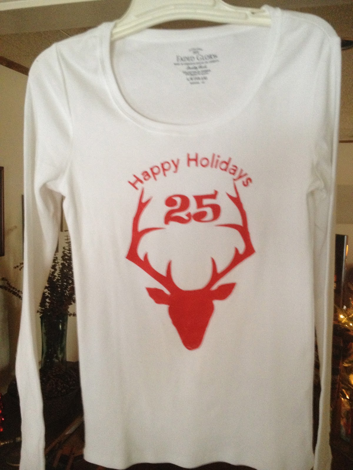 Lorrie S Story Christmas T Shirt With The Silhouette Cameo