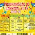 Confira a programação completa dos 3 dias de festa do Carnaval de Mairi