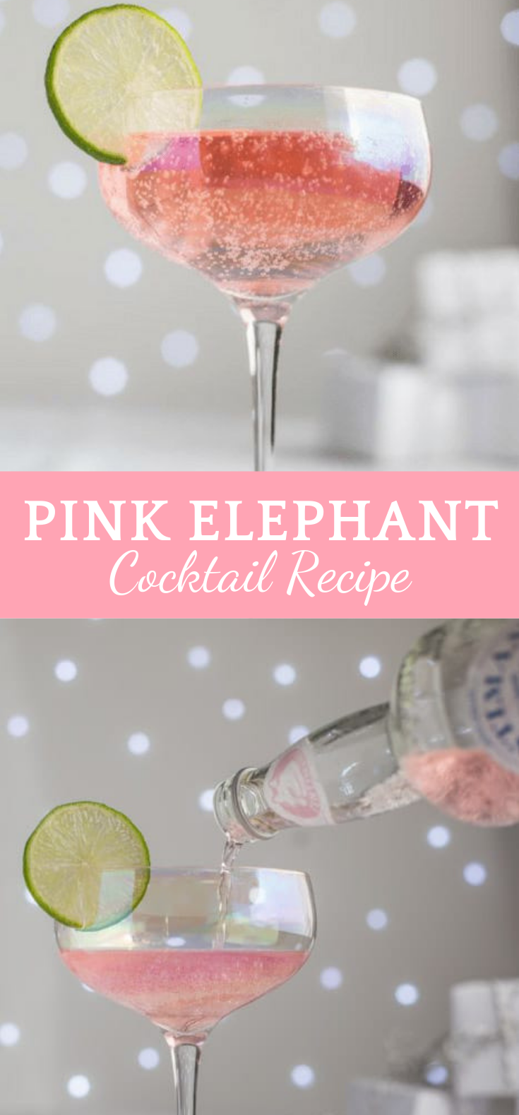 PINK ELEPHANT COCKTAIL RECIPE #Cocktail #Drink