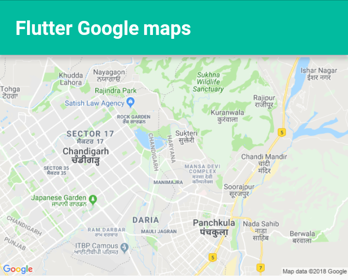 Flutter - Google map plugin  ~ Developer Libs