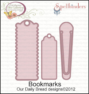 Our Daily Bread Designs Bookmarks Die