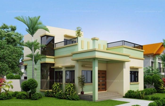 Plan de una casa de una sola planta diseñado para 198 metros cuadrados