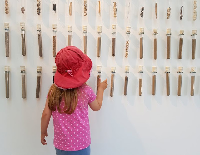 Im Watt in Dänemark: Unser Besuch im Vadehavscentret samt Wattenmeer-Tour. Unsere Kinder haben neugierig die Ausstellung des Zentrums erkundet.