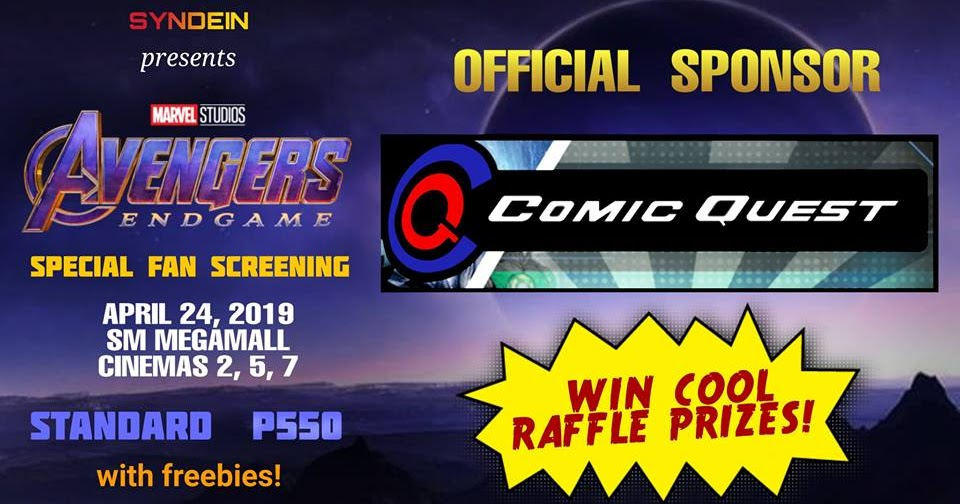 Comic Quest Joins The Avengers: Endgame Special Fan ...