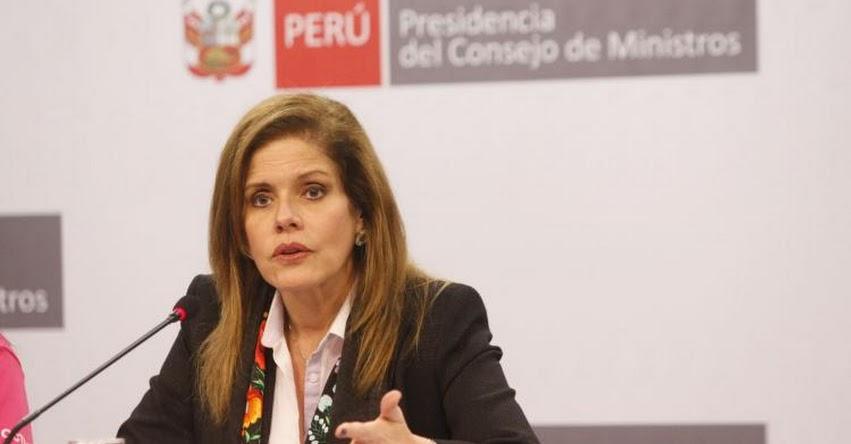 La presidenta del Consejo de Ministros Mercedes Aráoz se presenta hoy en el Congreso para voto de confianza