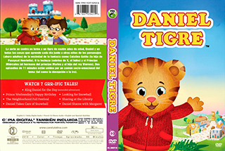 Daniel Tigre - Cover DVD