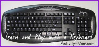 keyboard and your toddler