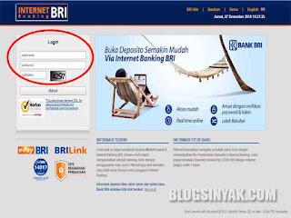 Cara Daftar Internet Banking BRI Dengan Mudah | Blogsinyak