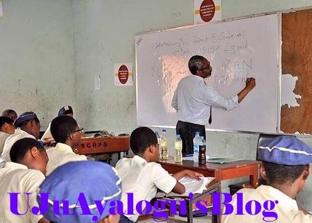 PHOTOS: House of Reps Leader, Femi Gbajabiamila Returns To School As Teacher