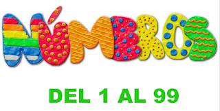 http://issuu.com/anllencarna/docs/nu__meros_del_1_al_99_con_letra/1