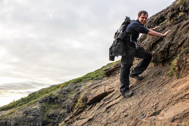 Momentos difíciles al salirnos de la ruta de la cascada Glymur
