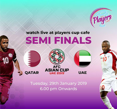 Qatar vs UAE Live Streaming AFC 2019 ( 29.1.2019)