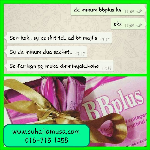 BBplus collagen testimonial Januari 3