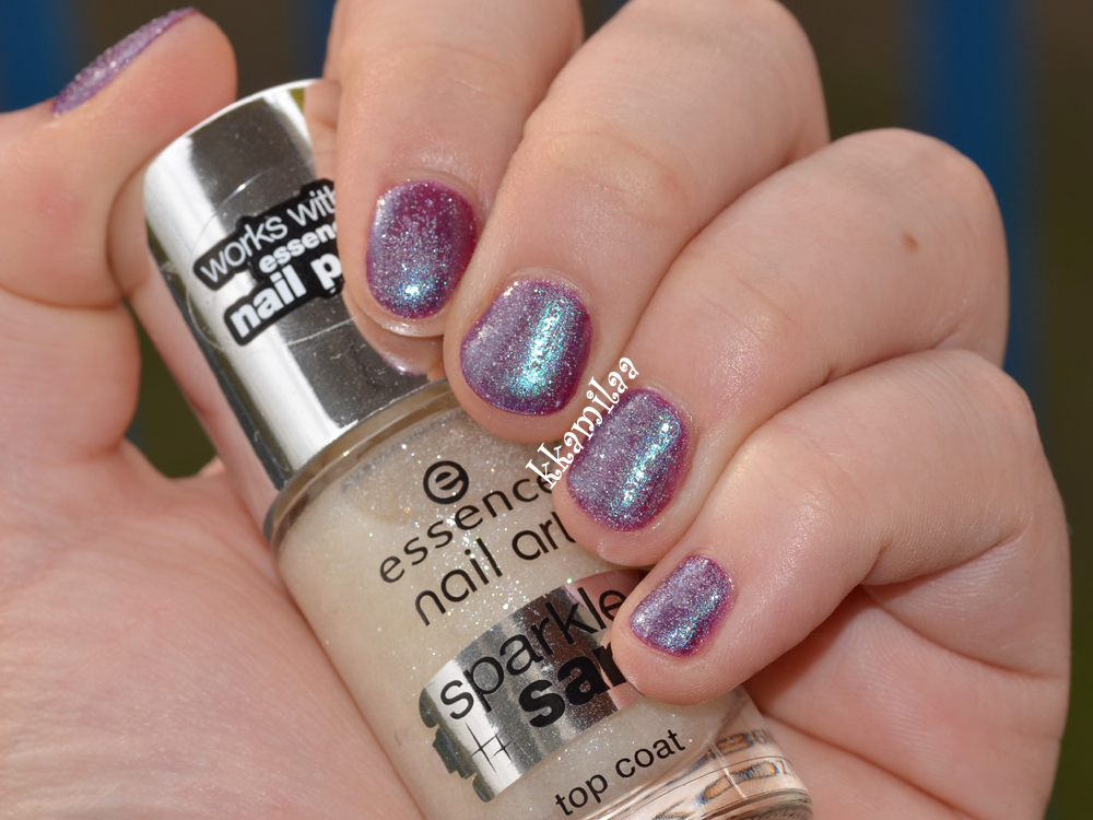 Essence Nail Art Sparkle Sand Top Coat nr 24 - I Feel Gritty!