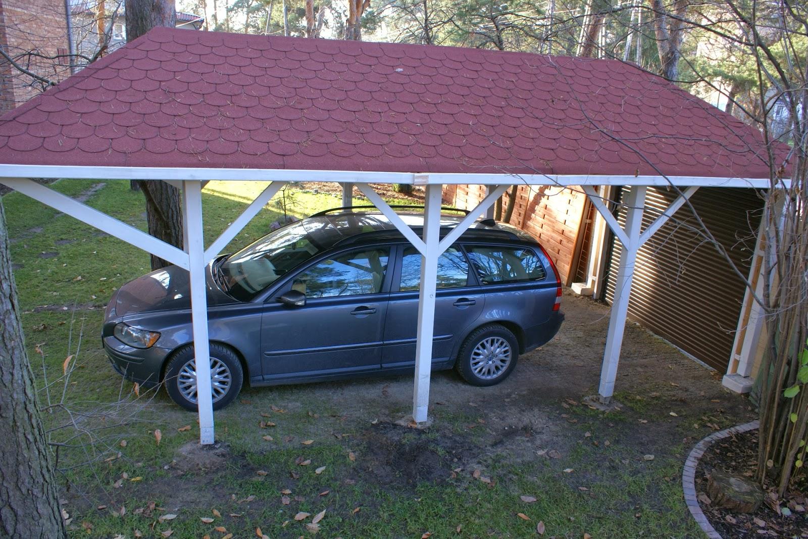 Zupełnie nowe Uponatree: Dlaczego wiata a nie garaż? TF05