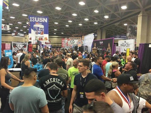Europa Expo Dallas bodybuilding fitness