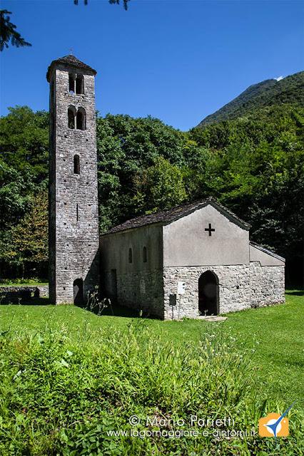 chiesa di san Maurizio Porlezza, esterno