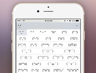 Cara mengaktifkan Emoticon Tersembunyi pada Keyboard iPhone