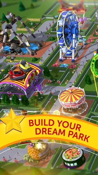 Free RollerCoaster Tycoon Touch MOD APK