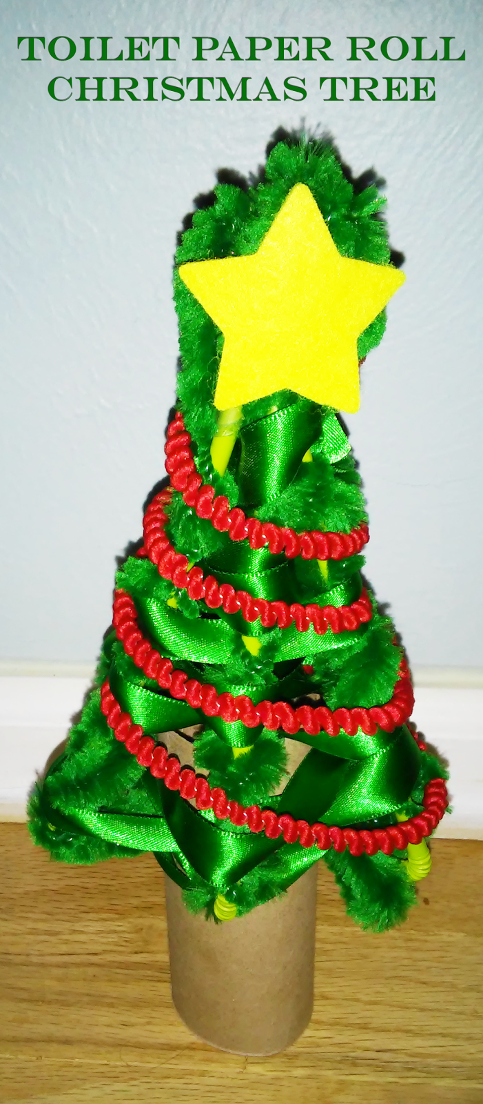 Toilet Paper Tube Christmas Tree Craft and #GIFtaTree ...