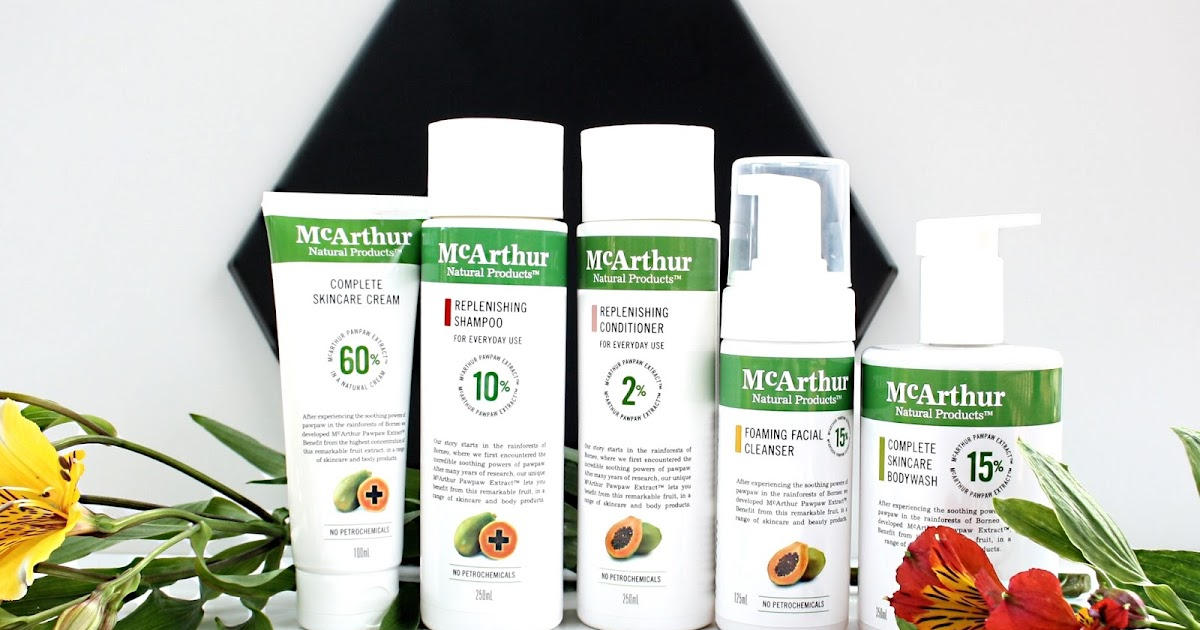 Review: McArthur Natural Products - Wellness by Kels