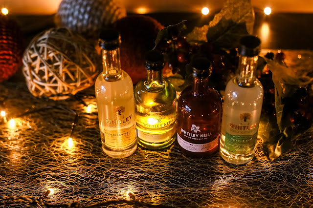 A mini Gin taster pack by JJ Whitley - For more ideas on how to survive the Christmas period and festive season read my pre-Christmas gift guide.