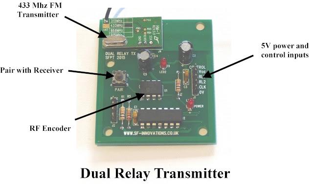 Remote Controlled Dual Relays using FM Radio Mo    | element14