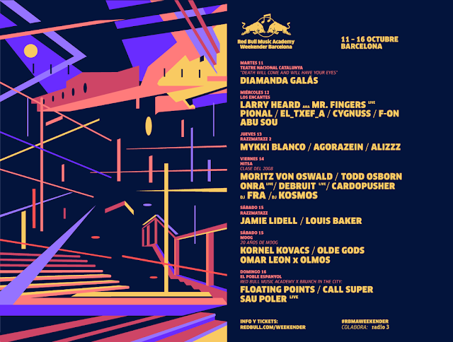 Red Bull Music Academy Weekender Barcelona